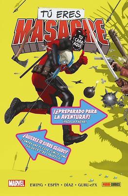Tú Eres Masacre. 100% Marvel HC (Edición Especial)