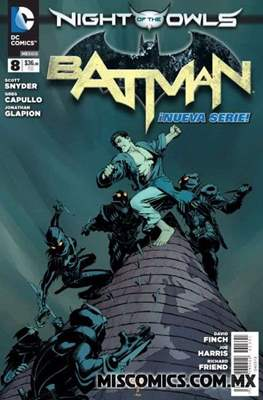 Batman (2012-2017) (Grapa) #8