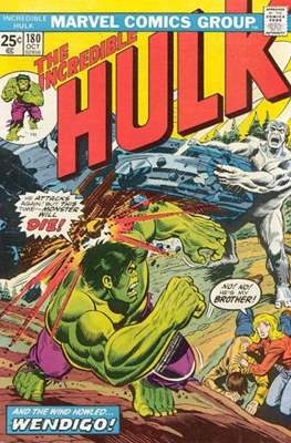 The Incredible Hulk Vol. 1 (1962-1999) (Comic Book) #180