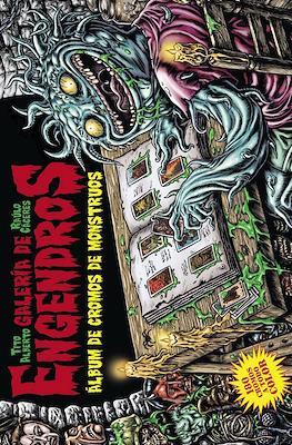 Galería de Engendros. Álbum de cromos de monstruos (Cartoné 64 pp) #