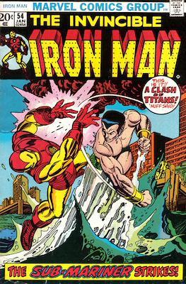 Iron Man Vol. 1 (1968-1996) (Comic book) #54