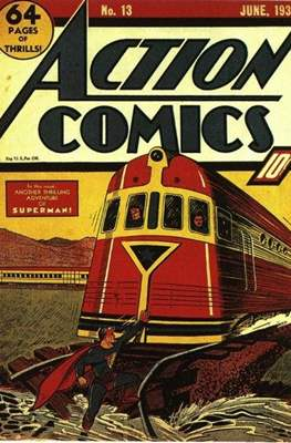 Action Comics Vol. 1 (1938-2011; 2016-) (Comic Book) #13