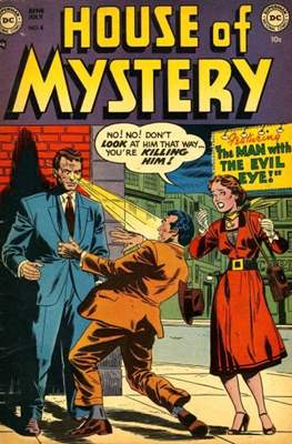 The House of Mystery #4