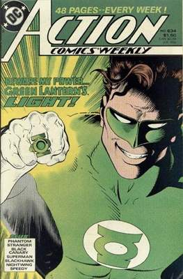 Action Comics Vol. 1 (1938-2011; 2016-) (Comic Book) #634