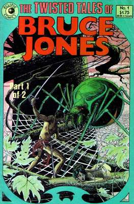 The Twisted Tales of Bruce Jones (Comic Book) #1
