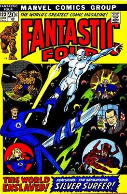Fantastic Four Vol. 1 (1961-1996) (saddle-stitched) #123
