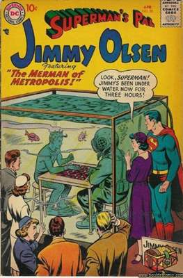 Superman's Pal, Jimmy Olsen / The Superman Family (Comic Book) #20