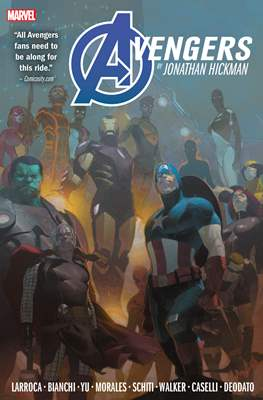 Avengers by Jonathan Hickman Omnibus (Hardcover 1192-1088 pp) #2