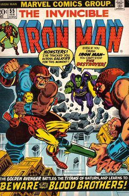 Iron Man Vol. 1 (1968-1996) (Comic book) #55