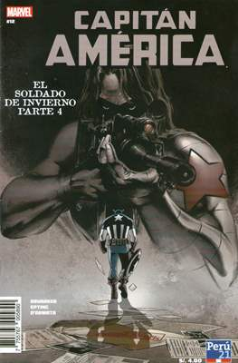 Capitán América: El Soldado de Invierno #4