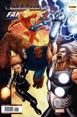 Special Ultimates & Ultimate X-Men / Ultimate Fantastic Four (Grapa) #5