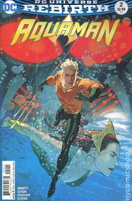 Aquaman Vol. 8 (2016-2021) Variant Cover) #2