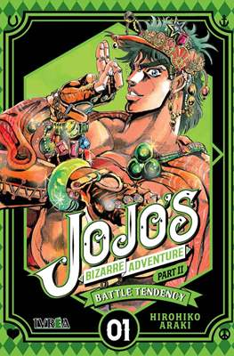JoJo's Bizarre Adventure - Part II: Battle Tendency (Rústica con sobrecubierta) #1
