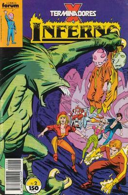 Inferno (1989-1991) (Grapa. 17x26. 32 páginas. Color.) #2