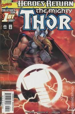 The Mighty Thor (1998-2004 Variant Cover) (Comic Book) #1