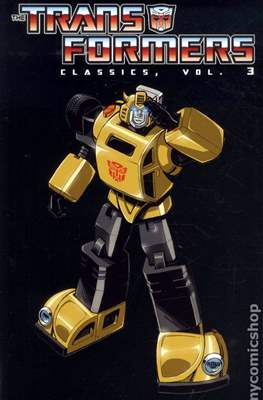 Transformers Classic (Softcover, 348-276 pp) #3