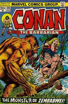 Conan The Barbarian (1970-1993) (Comic Book 32 pp) #28