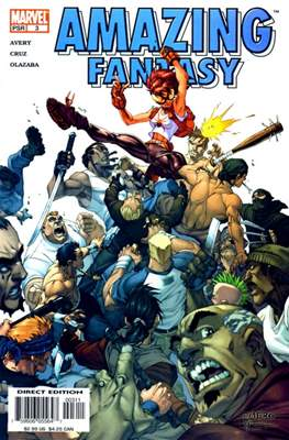 Amazing Fantasy Vol 2 (2004-2005) (Serie Regular, grapa, 48 páginas) #3