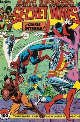 Secret Wars (1985-1987) (Grapa 32 pp) #3
