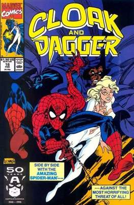 Cloak and Dagger Vol. 3 (1988-1991) (Comic-book.) #16