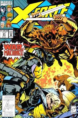 X-Force Vol. 1 (1991-2002) (Comic Book) #21