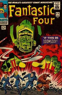Fantastic Four Vol. 1 (1961-1996) (saddle-stitched) #49