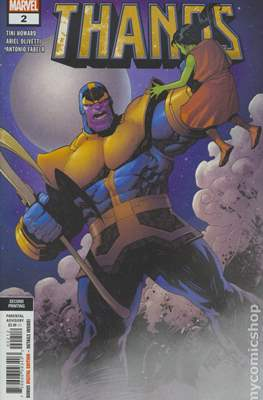 Thanos (2019 Variant Cover) (Comic Book) #2.2