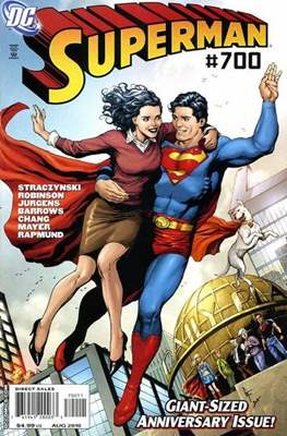 Superman Vol. 1 / Adventures of Superman Vol. 1 (1939-2011) (Comic Book) #700