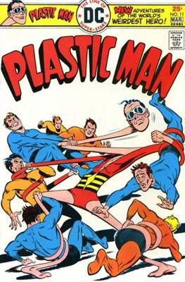 Plastic Man vol.2 (1966-1977) (Grapa, 32 págs.) #11