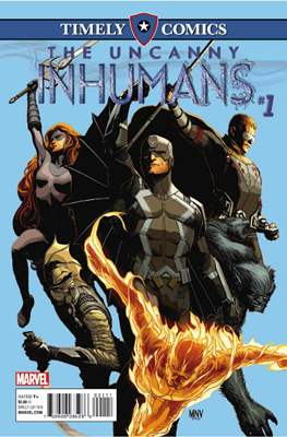 The Uncanny Inhumans - Timely Comics