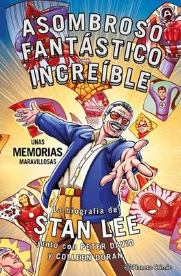 Asombroso, fantástico, increíble: Unas memorias maravillosas (Cartoné 200 pp) #