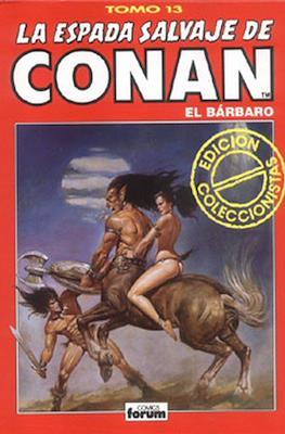 La Espada Salvaje de Conan el Bárbaro. Edición coleccionistas (Rojo) (Cartoné 192 pp) #13