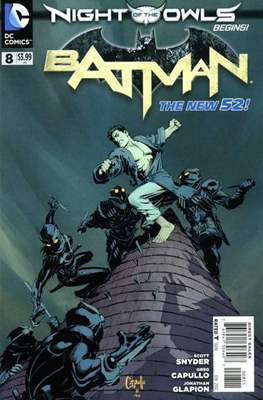 Batman Vol. 2 (2011-2016) (Saddle-stitched) #8