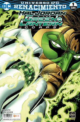 Green Lantern. Nuevo Universo DC / Hal Jordan y los Green Lantern Corps. Renacimiento (Grapa) #56/1