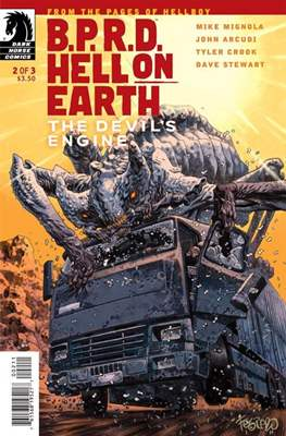 B.P.R.D. Hell on Earth: The Devil's Engine (Comic Book) #2