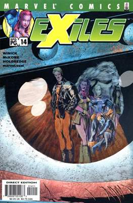Exiles Vol. 1 (2001-2008) (Comic Book) #14