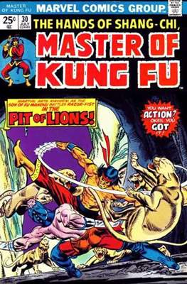 Master of Kung Fu (Comic Book. 1974 - 1983. Continued from Special Marvel Edition #16) #30