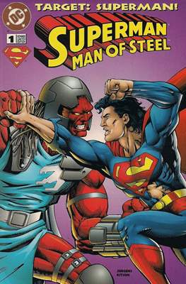 Superman Man of Steel. Target: Superman!
