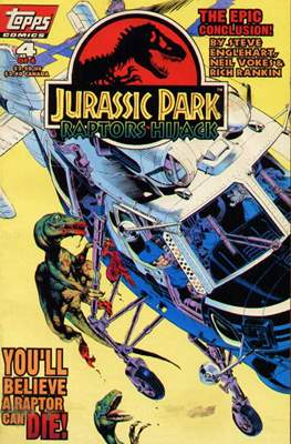 Jurassic Park: Raptors Hijack (Comic Book) #4