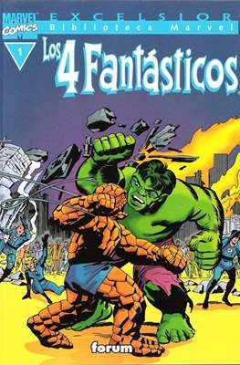 Biblioteca Marvel: Los 4 Fantásticos (1999-2001) (Rústica 160 pp) #1