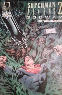 Superman / Aliens 2: Godwar #2