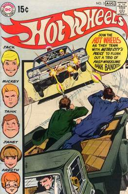 Hot Wheels (Comic Book) #3