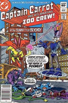 Captain Carrot and his amazing Zoo Crew #6