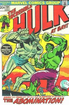 The Incredible Hulk Vol. 1 (1962-1999) (Comic Book) #159