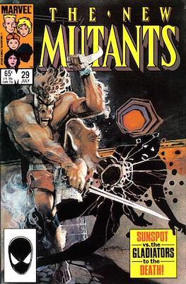 The New Mutants (Comic Book) #29