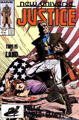 Justice. New Universe (1986) (Grapa.) #14
