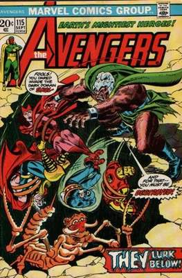 The Avengers Vol. 1 (1963-1996) (Comic Book) #115