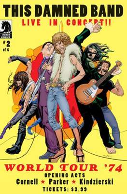 This Damned Band (Comic Book) #2