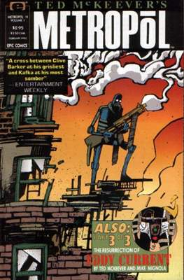 Ted McKeever's Metropol (Grapa) #11