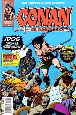 Conan el Bárbaro (1998-2001) (Grapa. 24 páginas.) #84